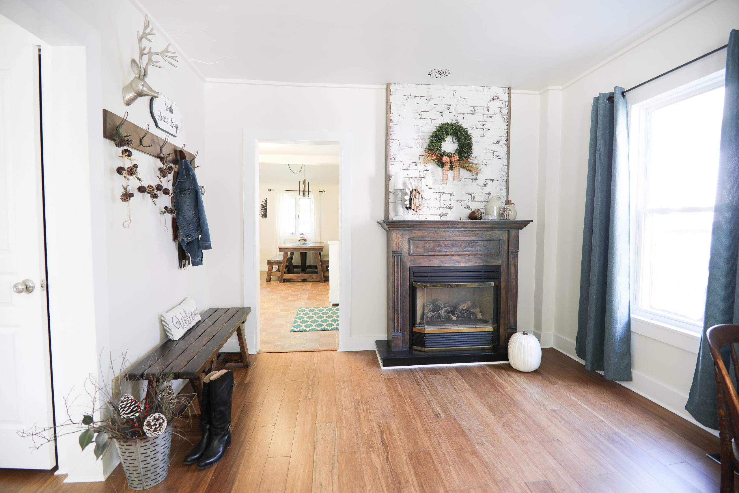 Tour of North House Lodge #54 unit, upscale vacation rental in Ludlow, Vermont