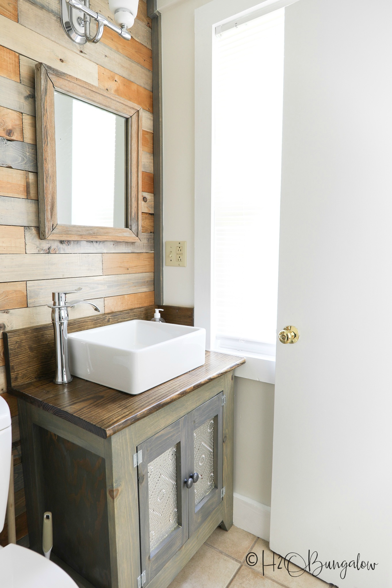 gorgeous renovated bath in Ludlow VT upscale vacation rental