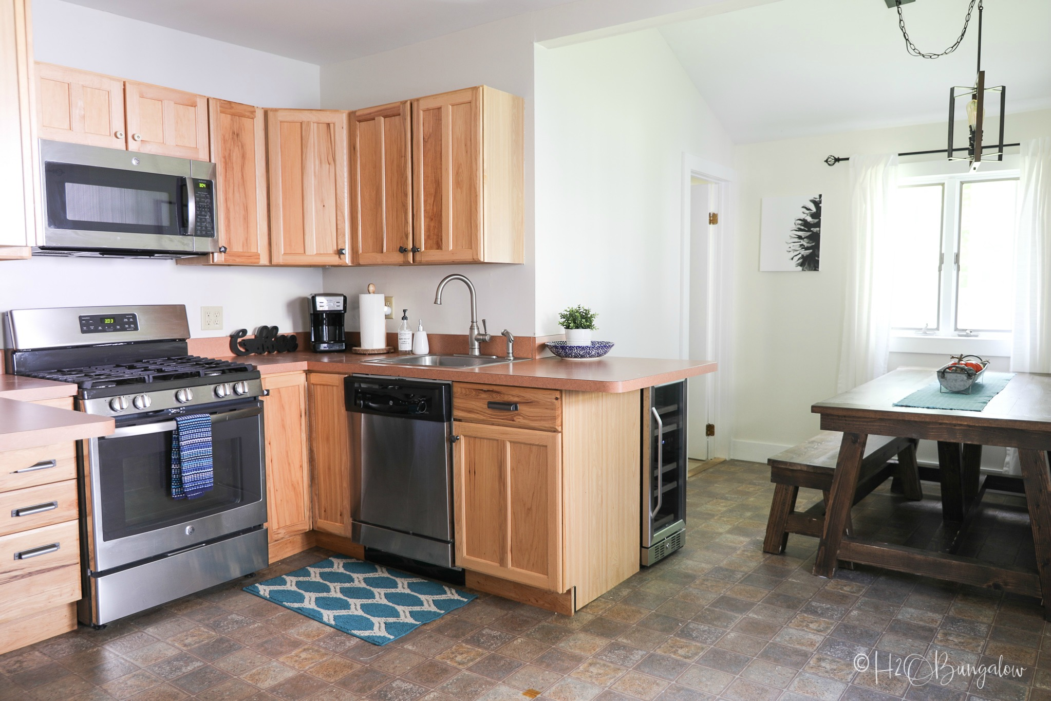 North House Lodge #54 kitchen, our upscale vacation rental in Ludlow, Vermont